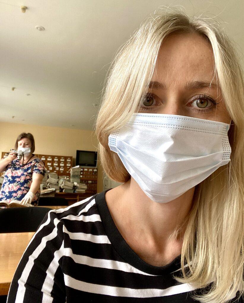 Maske Odessa Ukraine
