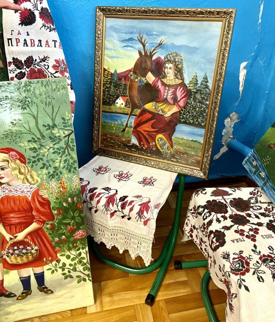 Ukrainische Volksmalerei
