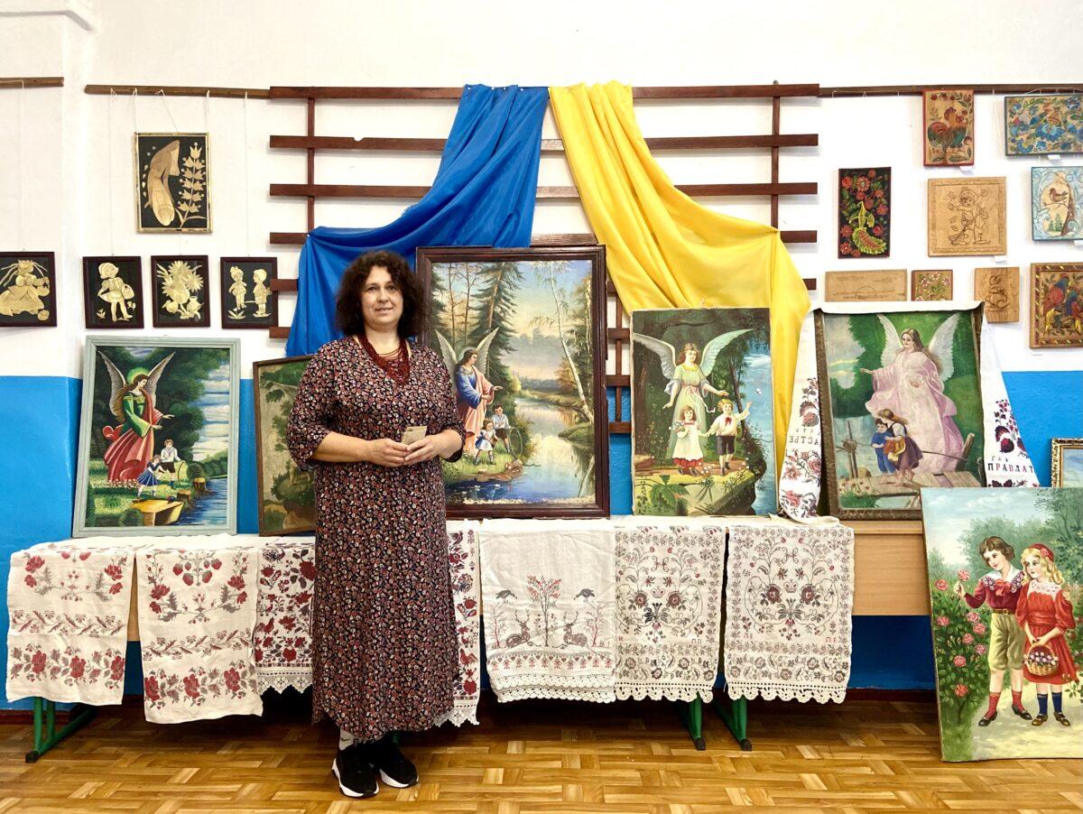 Deutsche Postkartenmotive in der ukrainischen Volksmalerei